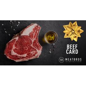 La carte cadeau - Meatbros