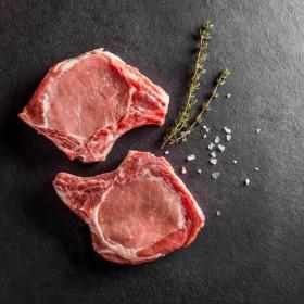 Cote de porc avec manche - Meatbros