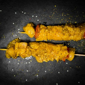Brochette poulet au curry - Meatbros