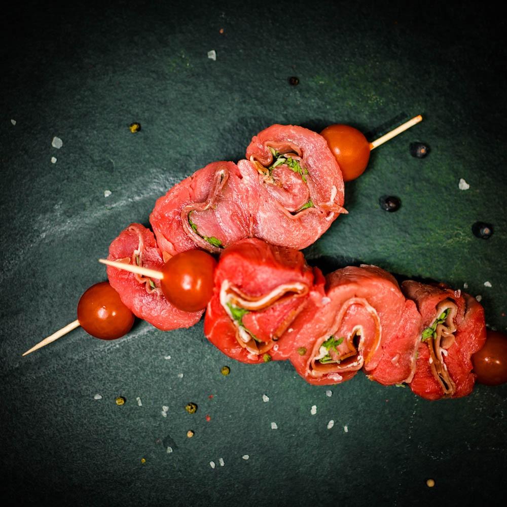 Brochette de veau Saltimboca