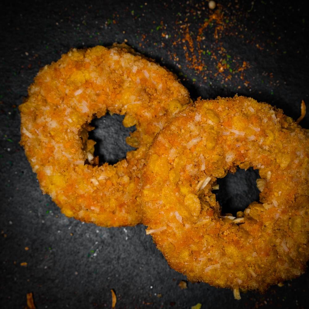 Donuts de poulet croustillant