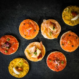Canapés Jambon cru marque national - Meatbros