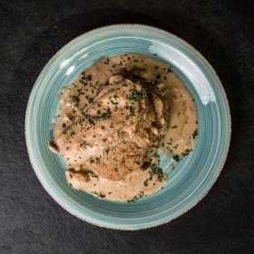 Orloff de veau sauce crème champignons - Meatbros