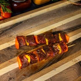 Brochette de boeuf mariné - Meatbros