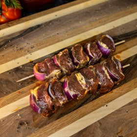 Brochette d'agneau marinée - Meatbros
