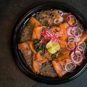 Carpaccio de saumon - Meatbros